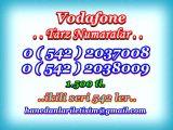 HANEDANLAR İLETİŞİM den VODAFONE TARZ NUMARALAR..0 ( 542 ) 2037008 / 2038009