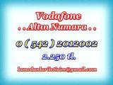 HANEDANLAR İLETİŞİM den Vadofone ALTIN NUMARALAR...0 ( 542 ) 2012002