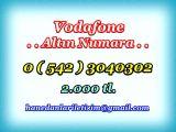 HANEDANLAR İLETİŞİM den Vadofone ALTIN NUMARALAR... 0 ( 542 ) 3040302