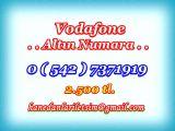 HANEDANLAR İLETİŞİM den Vadofone ALTIN NUMARA.Süper 0 ( 542 ) 7371919