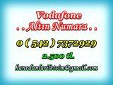 HANEDANLAR İLETİŞİM den VODAFONE ALTIN NUMARA. Süper 0 ( 542 ) 7372929