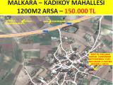 malkara Kadıköy SATILIK 1.200m2 FIRSAT ARSA