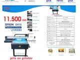 UV FLATBED PRİNTER EPSON DX10