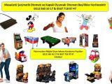 Eğlence ve Hizmet Sektörü Kazançlı Bayilikler Verilecektir Oyun Salonu Kurulumu