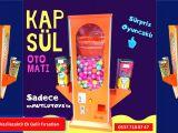 Sürpriz Hediyeli Kapsül Oyuncak Otomat Makinaları Üreticileri İstanbul