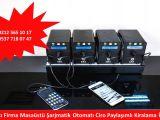 İmalatçı Firma Masaüstü Şarjmatik Otomatı Ciro Paylaşımlı Kiralama İstanbul