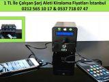 1 TL İle Çalışan Şarj Aleti Kiralama Fiyatları İstanbul Aramadan Karar Vermeyin