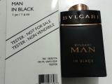 TESTER BVLGARİ MAN İN BLACK EDT 100 ML
