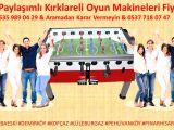 Kiralık Langırt Masası İstanbul Yarı Yarıya Oyun Makinaları