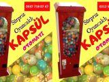 İmalattan Kapsül Oyuncak Makinesi Bayilik Fiyatları İstanbul
