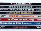 OTO GALERİ RENT A CAR ARAÇLARINA REKLAMLI PLAKALIK