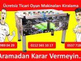 Edirne Askeri Gazinosu Ciro Paylaşımlı Oyun Makineleri Kiralama