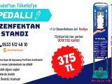 Ücretsiz Kargo Hediyeli Dezenfektan Standı Fiyatları İstanbul