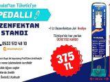 Ücretsiz Kargo Hediyeli Pedallı Dezenfektan Standı İmalatçısı İstanbul