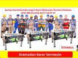 Kiralık Langırt Masası İstanbul Oyun Salonu Kurulumu Türkiye