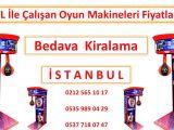 Kiralık Oyun Makineleri İstanbul Ciro Paylaşımlı Kiralık Bokslar
