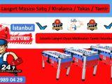 Langırt Teknik Servis İstanbul İlçeleri Langırt Tamircisi