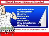 İstanbul Langırt Kiralama