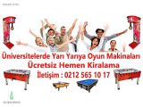 Jetonlu Oyun Makineleri Kiralama Fiyatları İstanbul