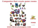 Companies that create game rooms