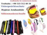 Maskenschnalle - Visier Gesichtsschutz - Hygiene Armband Produktion