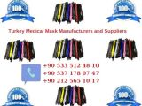 Turkey Medical Mask Manufacturers and Suppliers