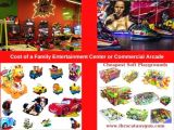 Cost of a Family Entertainment Center or Commercial Arcade