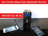Türkiye İthalat İhracat Ülkeler Masaüstü Powerbank Seri Üretimi