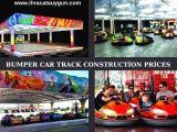 Bumper Cars Amusement Park Track Construction - Export Available