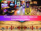 Cost of Game and Entertainment Centers for Hotels