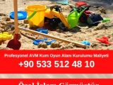 Profesyonel AVM Kum Oyun Alanı Kurulumu Maliyeti
